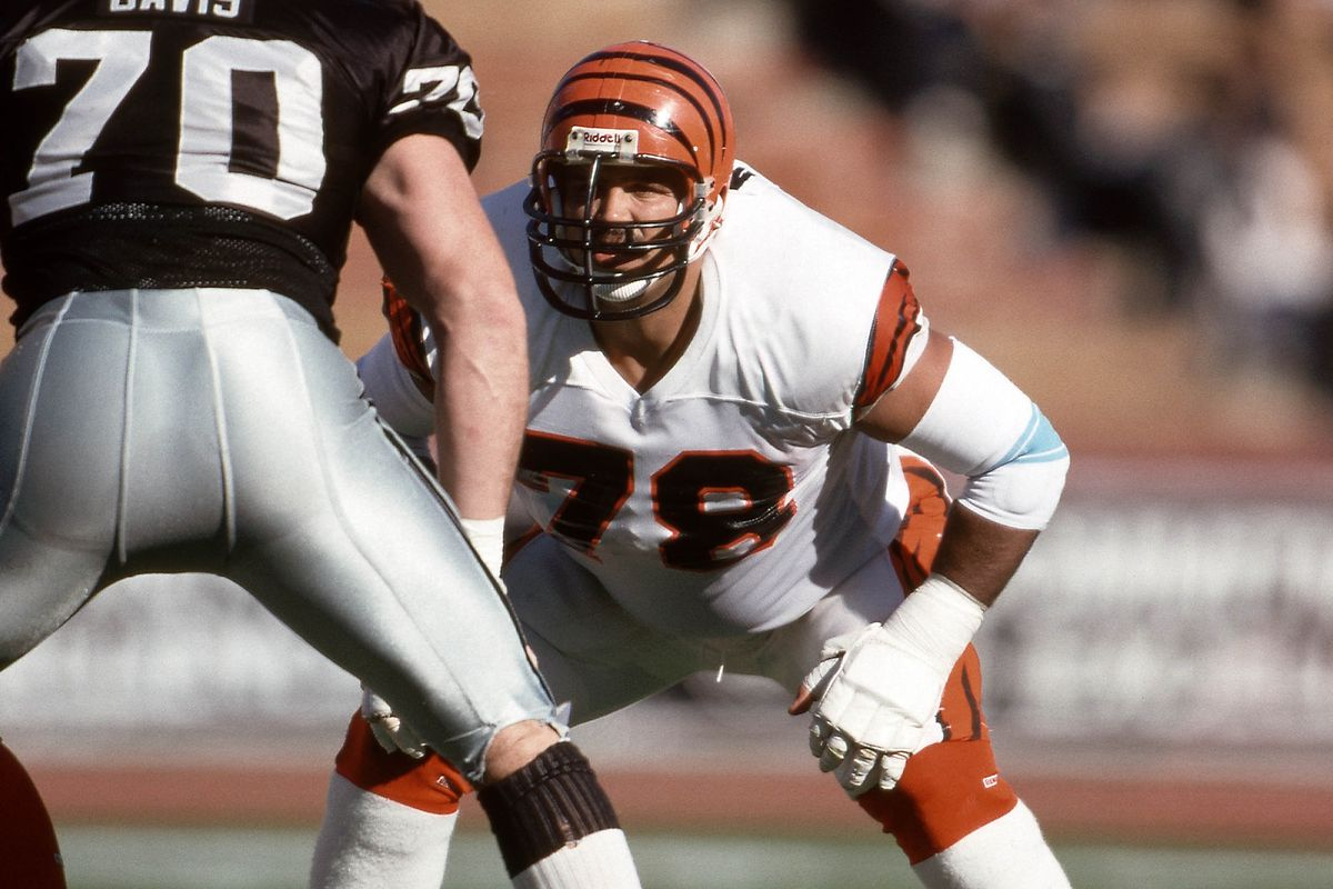5718fb2e962 Bengals Moments - Anthony Munoz To The Hall Of Fame - Cincy Jungle