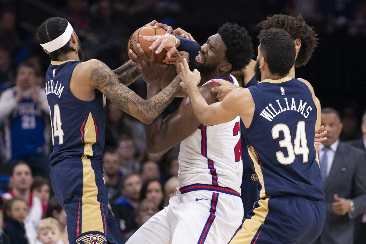 New Orleans Pelicans put up fight but fall to more talented Philadelphia 76ers, 116-109