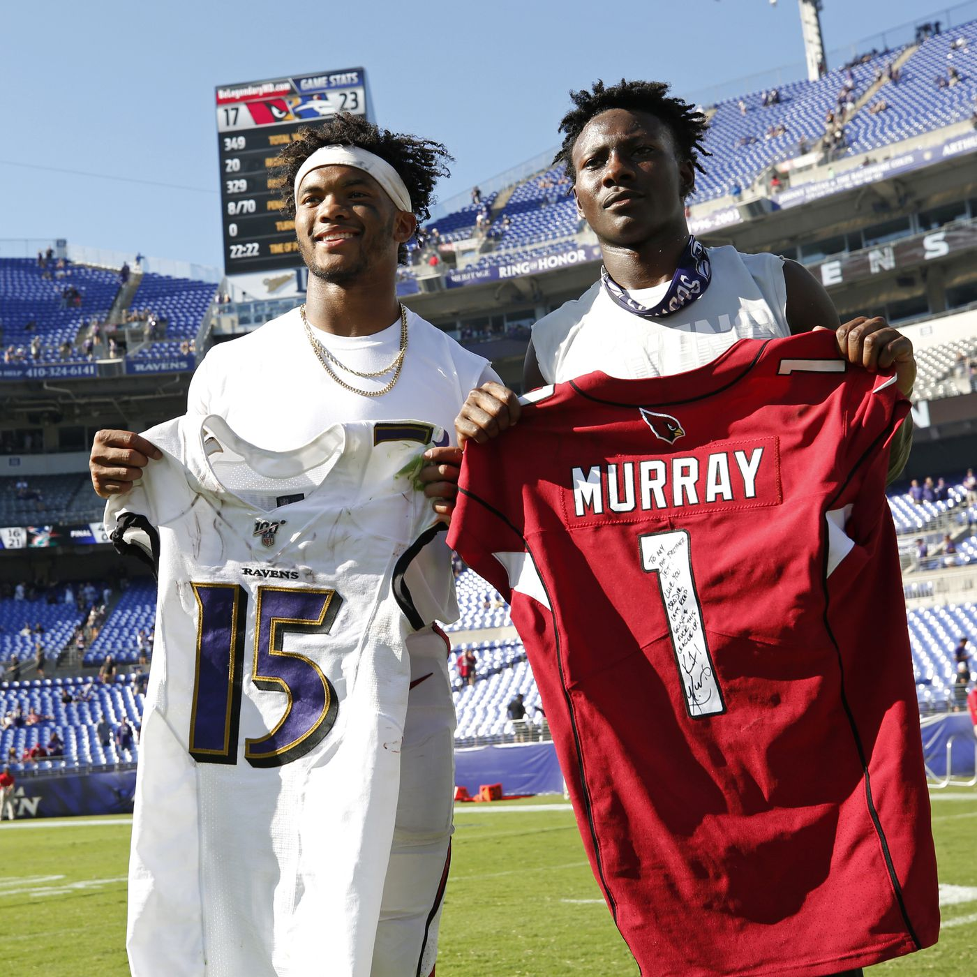 Oklahoma Football In The Nfl Kyler Murray Reunites With