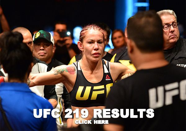 UFC 219 Results (2)