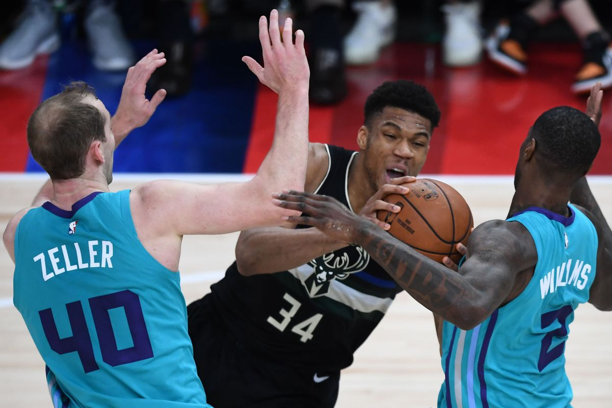 Rapid Recap: Bucks 116, Hornets 103