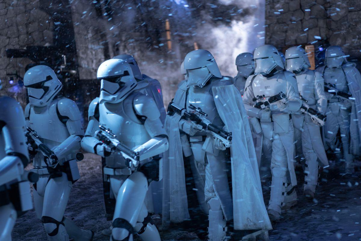 "Stormtroopers in ""Star Wars: The Rise of Skywalker."""