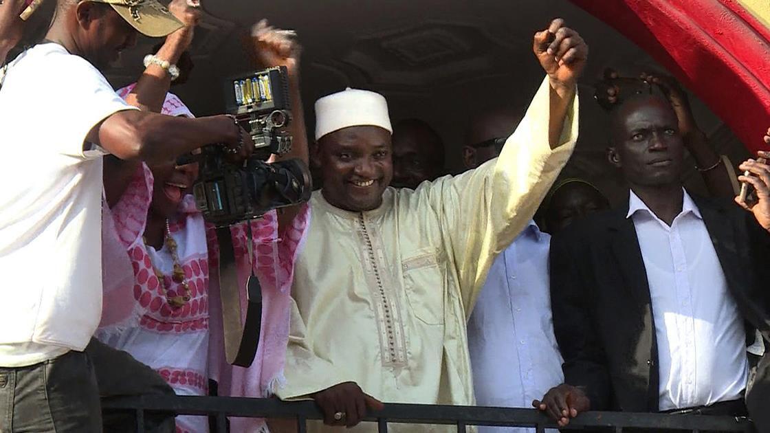 Gambia's president-elect, Adama Barrow