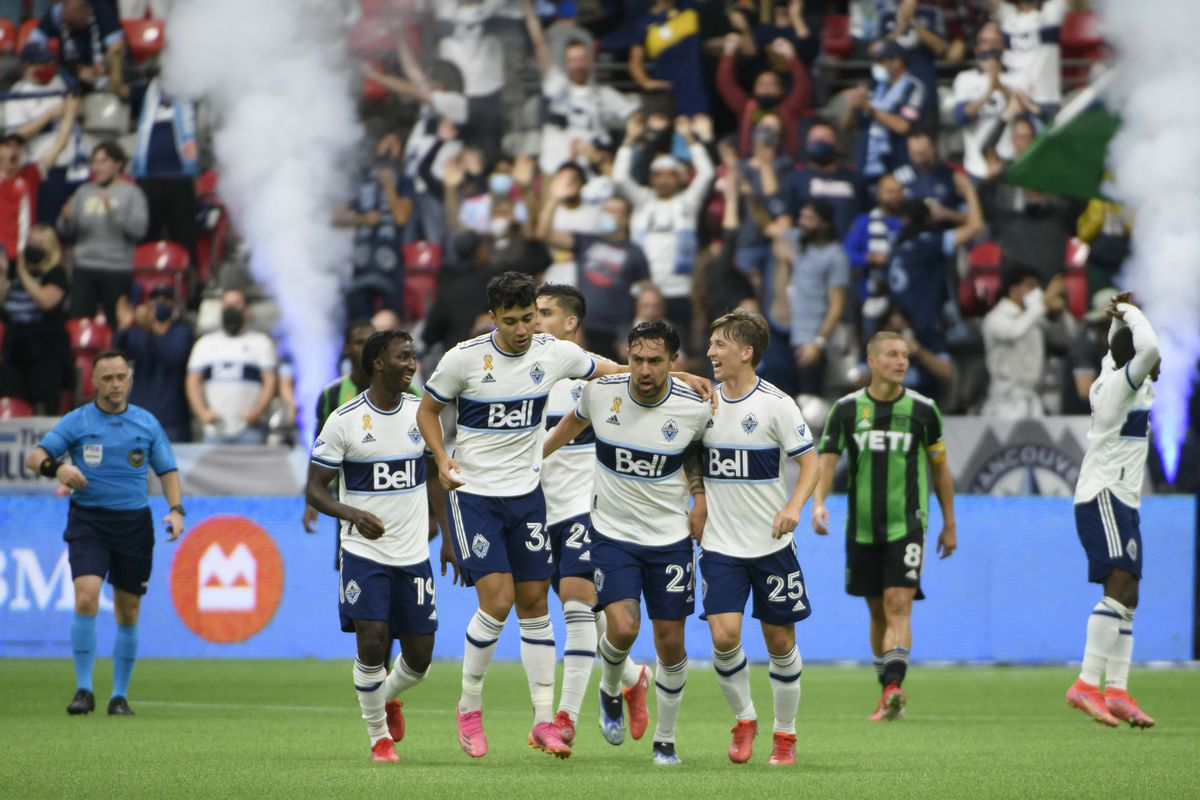 MLS: Austin FC at Vancouver Whitecaps FC