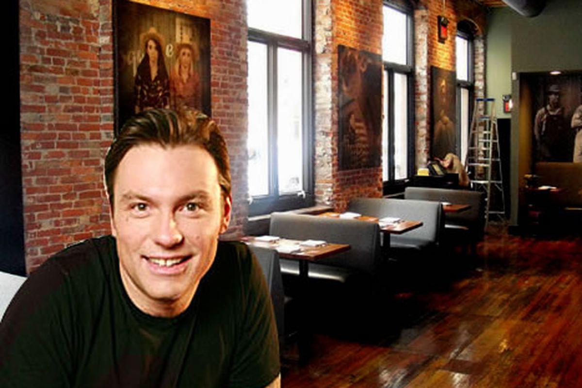Chuck Hughes eats all along Walnut St.