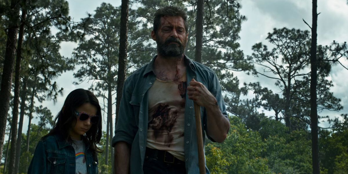 wolverine and x-1 in logan
