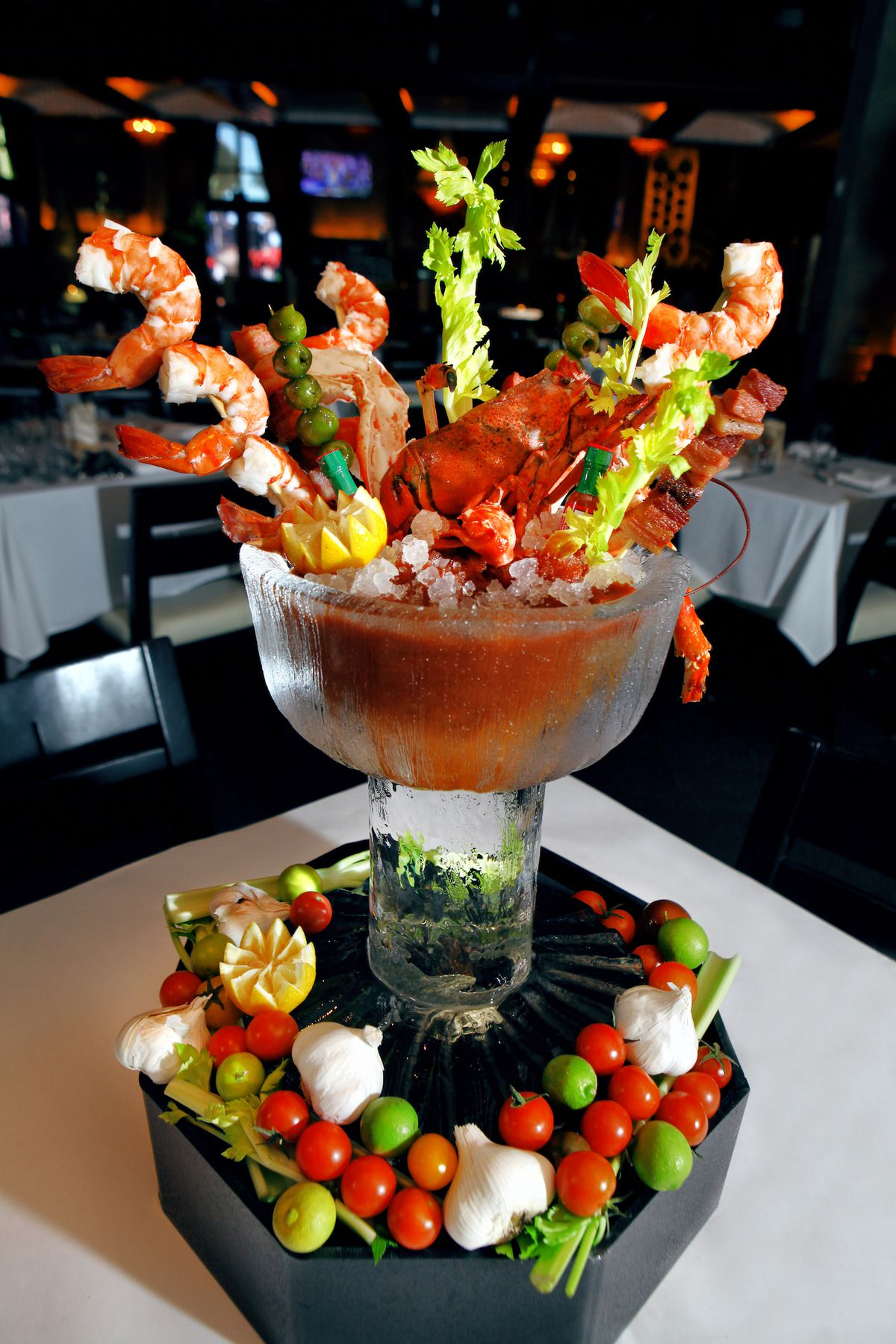 The new bloody Mary at Lavo