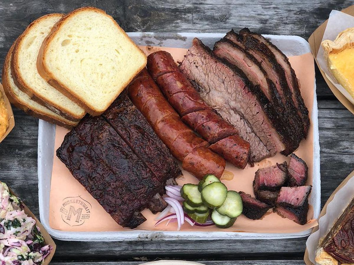 The barbecue tray at Micklethwait