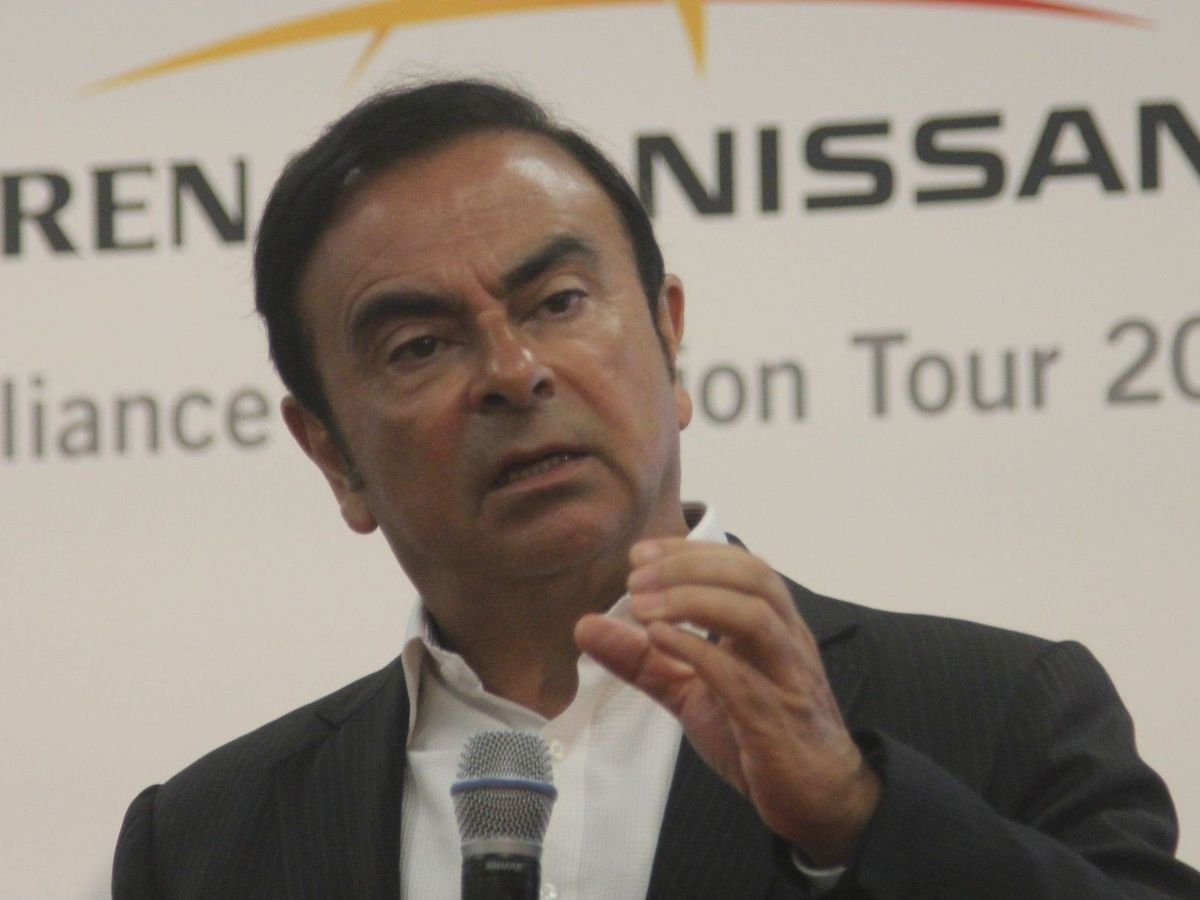Renault-Nissan CEO Carlos Ghosn