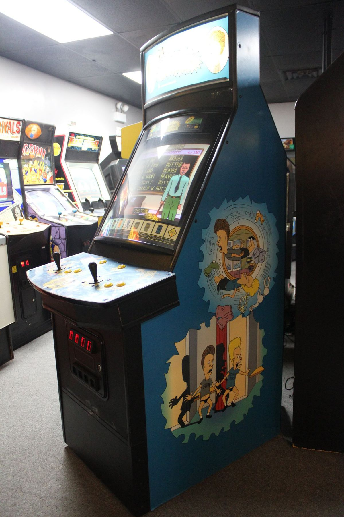 Rare, canceled Beavis and Butt-Head arcade game surfaces in