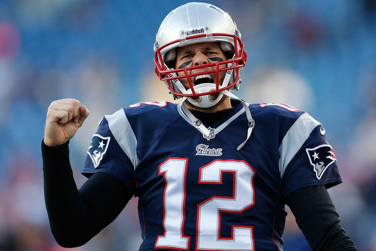 Tom Brady at rest.