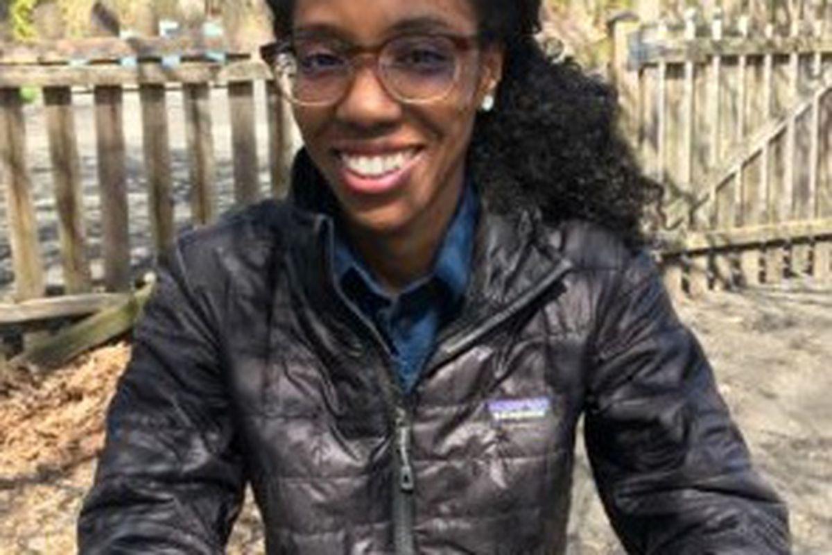Jasmine Miller, chair of Cooperative Nursery School's diversity committee.