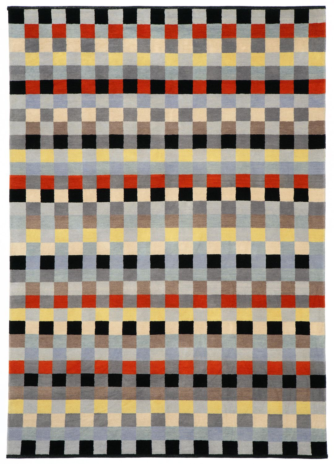 Anni Albers, Carpet for a children's bedroom, 1923 Wolle, Wool, hand-spun and hand-knotted. Re-weaving by Christopher Farr, 2014. | Institut für Auslandsbeziehungen