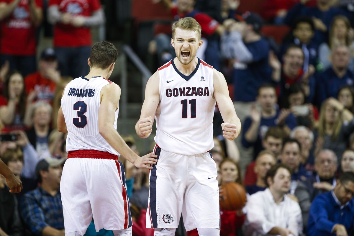 Domantas Sabonis is doing everything he can to keep Gonzaga from sliding any further.
