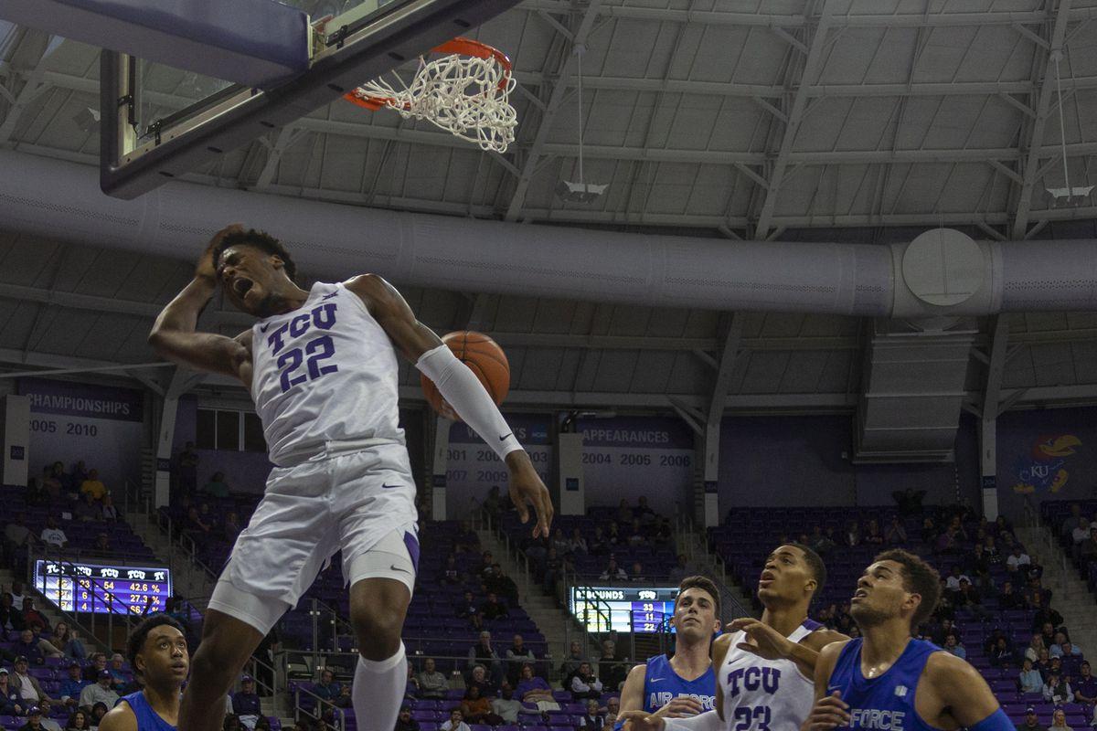 TCU Basketball vs Air Force (Fort Worth, TX) 11.18.19