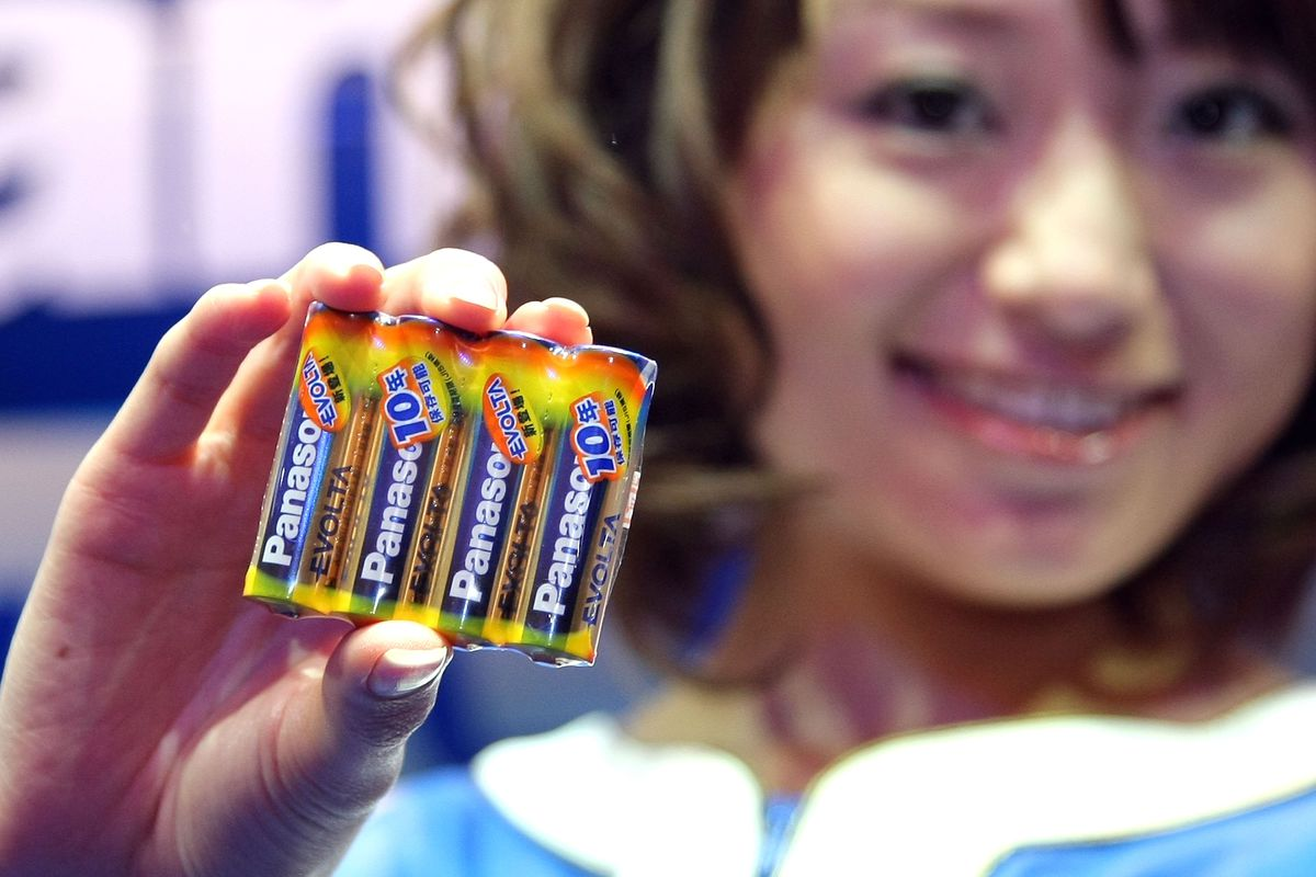 Panasonic Introduces New Dry Batteries