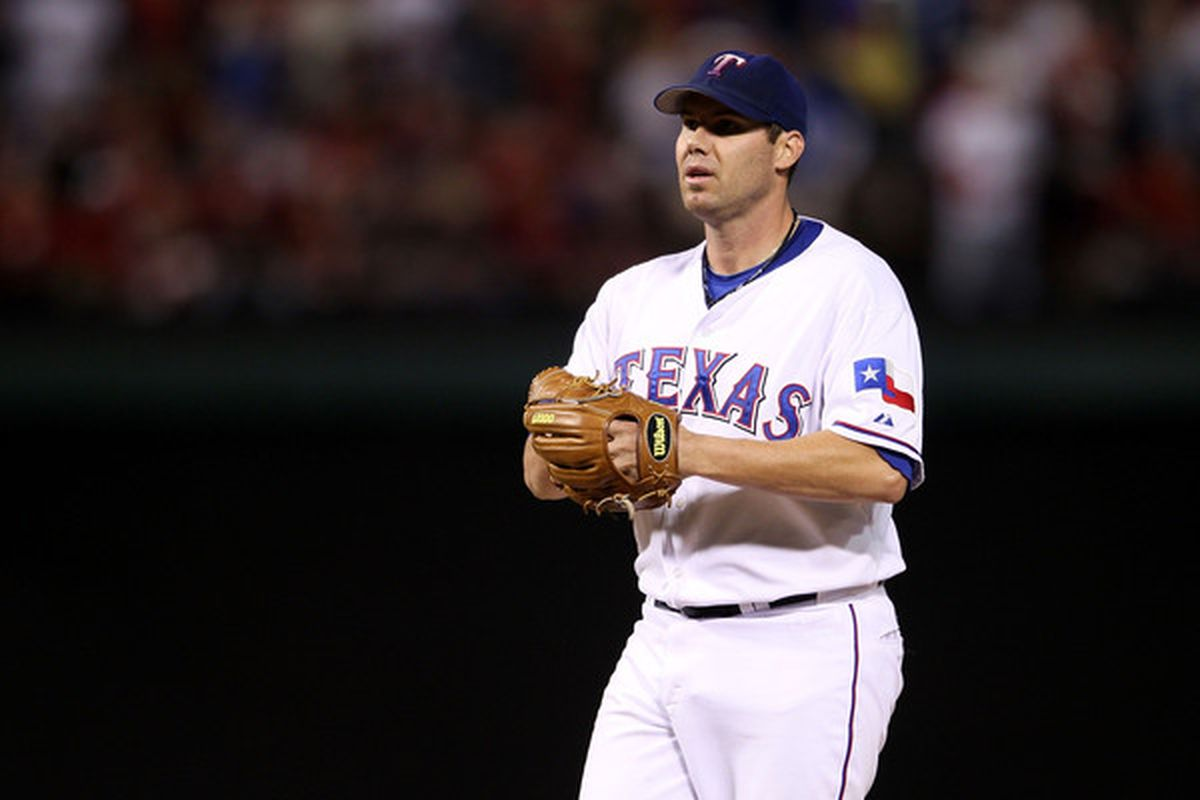 Colby Lewis' velocity has returned, but that doesn't make him a must-start yet.