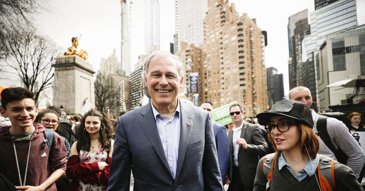 2020 Democrats intense competition to be like Jay Inslee on climate change, explained - Vox.com