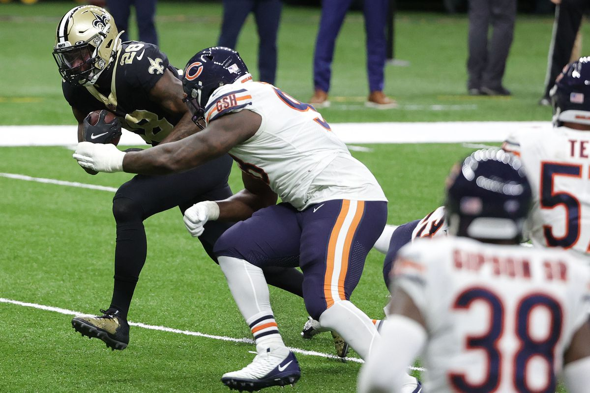 NFL: NFC Wild Card Round-Chicago Bears at New Orleans Saints