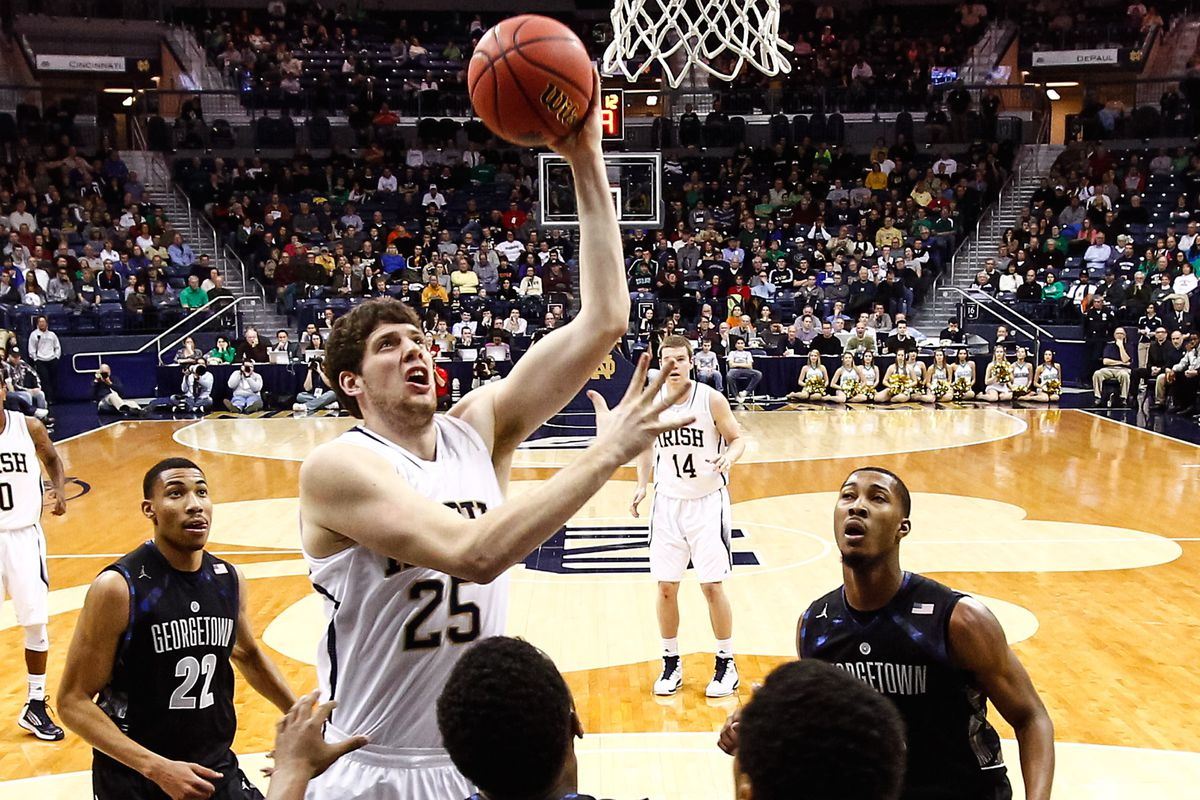 Can Tom Knight score in double digits again for the Irish?