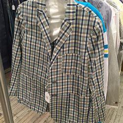 Maison Kitsuné check jacket, $150 (was $999)