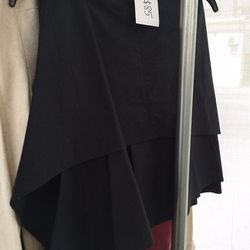 Caron Callahan poplin skirt, $85