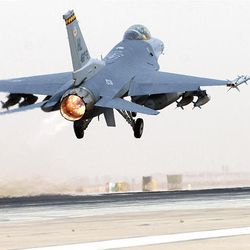 Passion for flying helped F-16 pilot soar to record