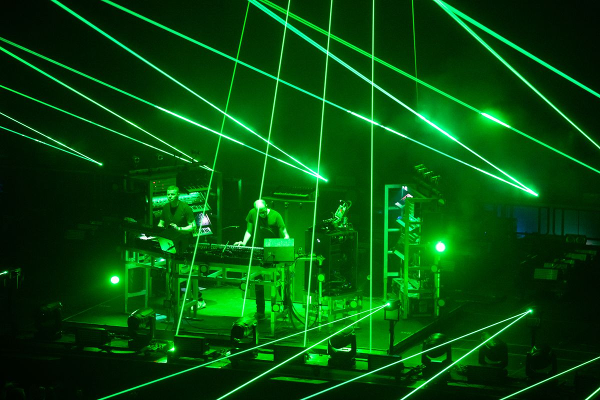 The Chemical Brothers Perform At First Direct Arena, Leeds