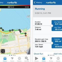 """<b><a href=""""https://www.runtastic.com/en/apps/runtastic"""">Runtastic Pro:</a></b> Distance tracker for a variety of workouts<br></br> <b>Features:</b><br></br> ·Tracks runs, walks, bicycle rides<br></br> ·Allows music player integration<br></br"""