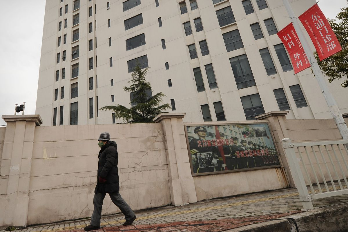 A Shanghai building that allgedly housed a Chinese military-led hacking group.