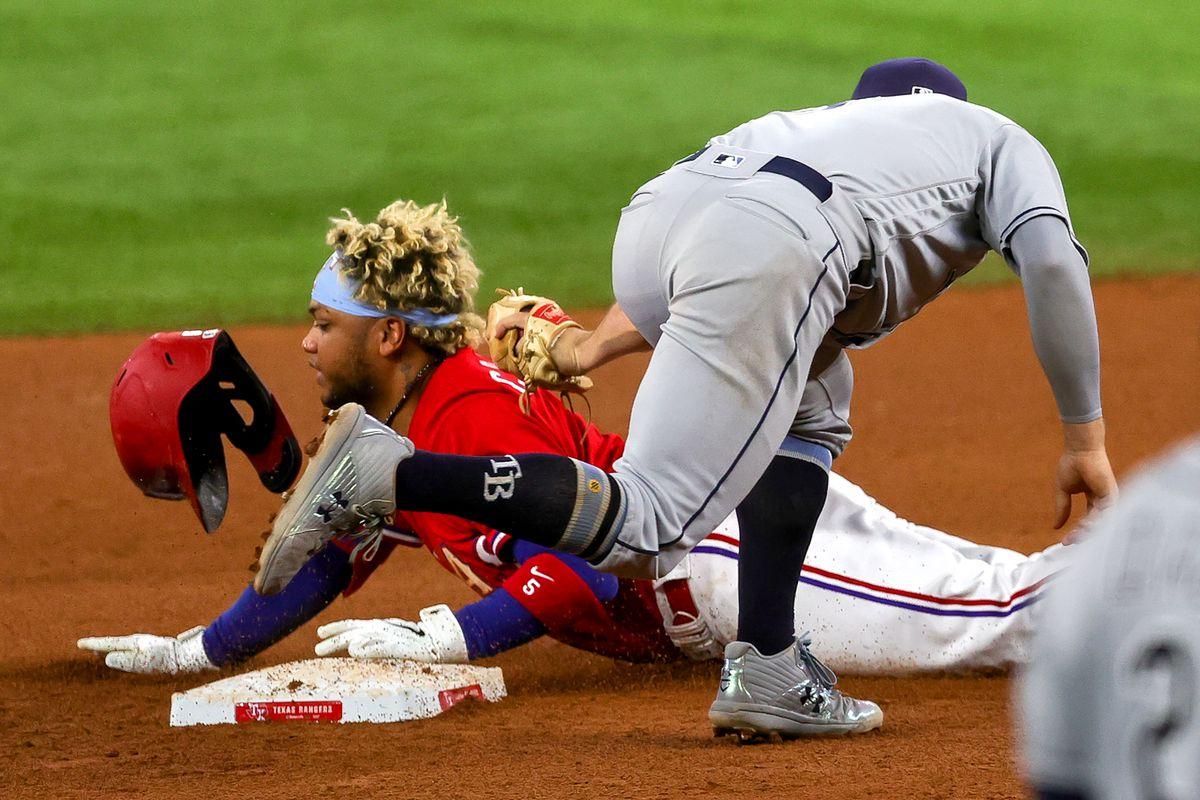 MLB: JUN 04 Rays at Rangers