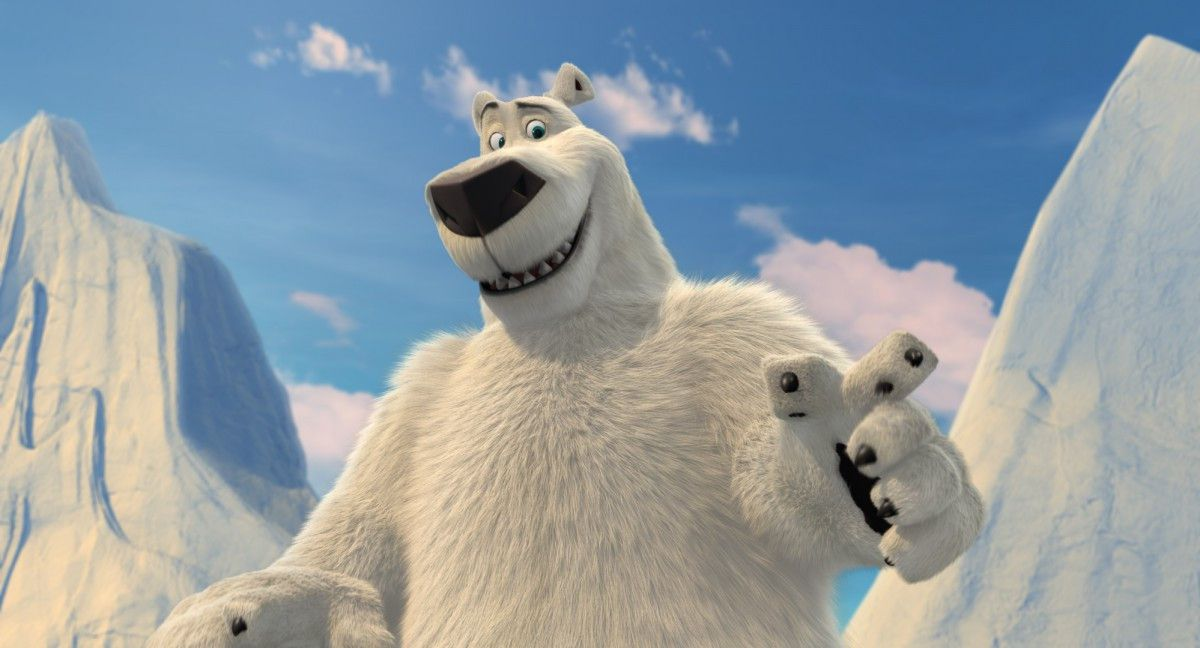 """The polar bear title character in """"Norm of the North.""""   Lionsgate"""