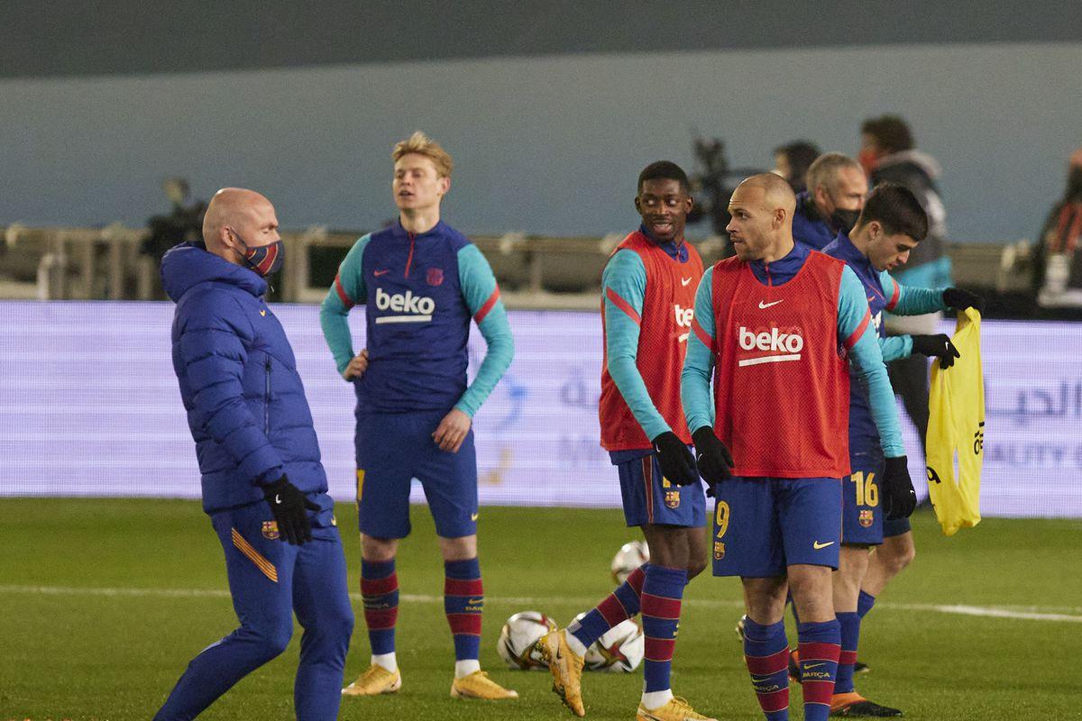Real Sociedad v FC Barcelona - Spanish Super Cup - Semi final