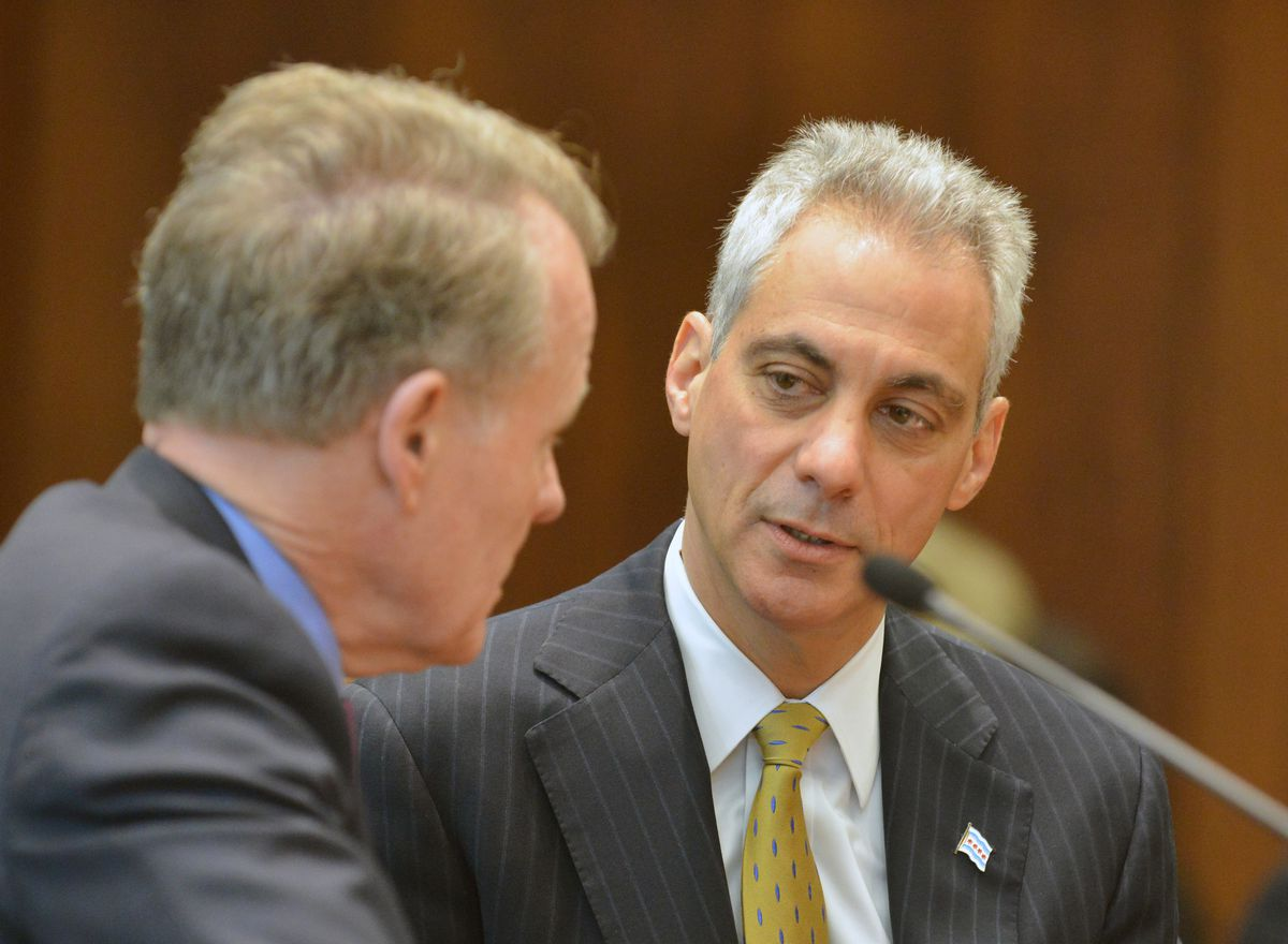 The purchase of a multi-purpose vehicle was approved after a flurry of messages between the offices of Mayor Rahm Emanuel and Illinois House Speaker Michael Madigan. | Sun-Times file photo
