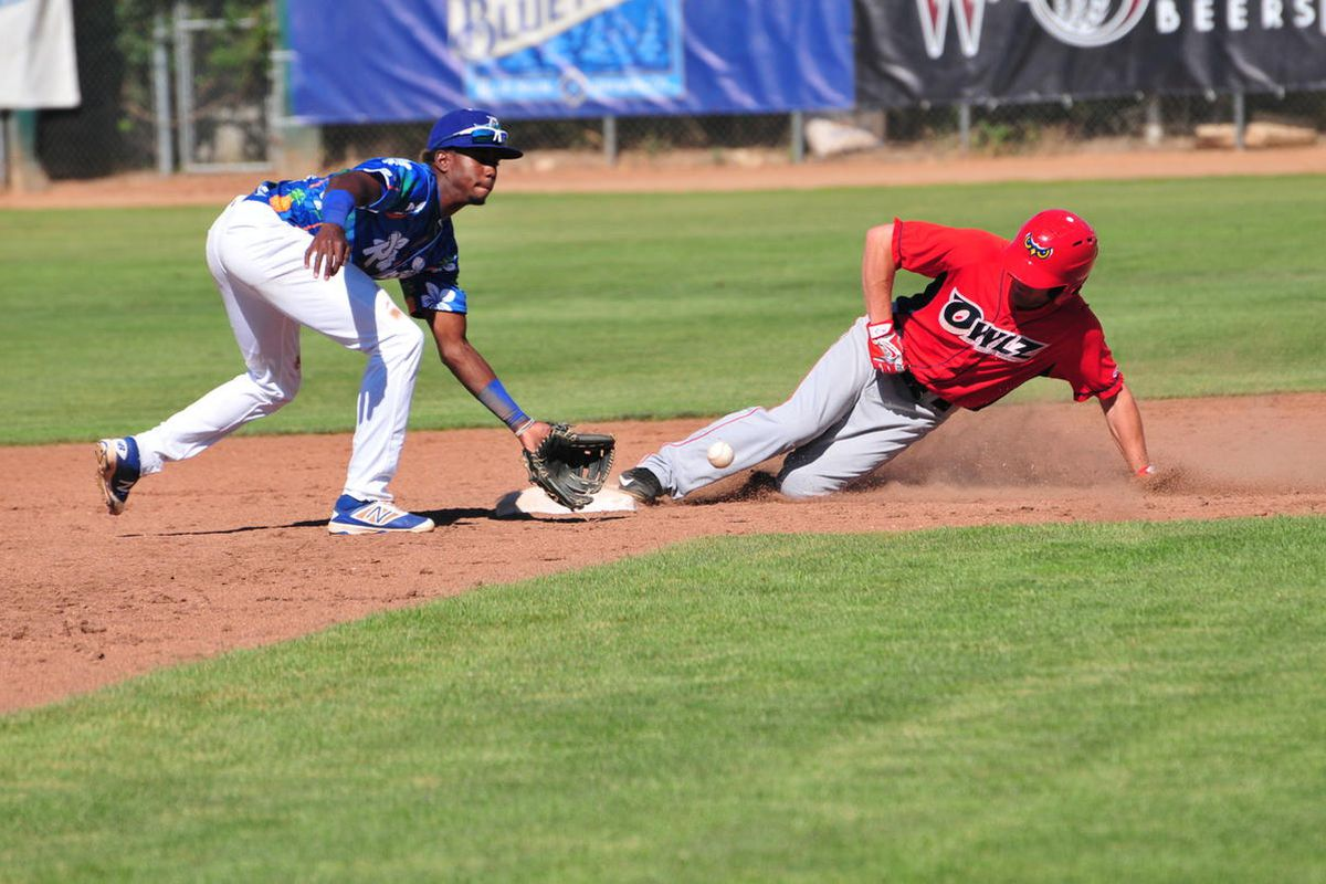 FILE: The Ogden Raptors and Orem Owlz, shown here in a 2016 game, will face each other in their 2017 Pioneer League opener Monday night at UVU's Brent Brown Ballpark in Orem.