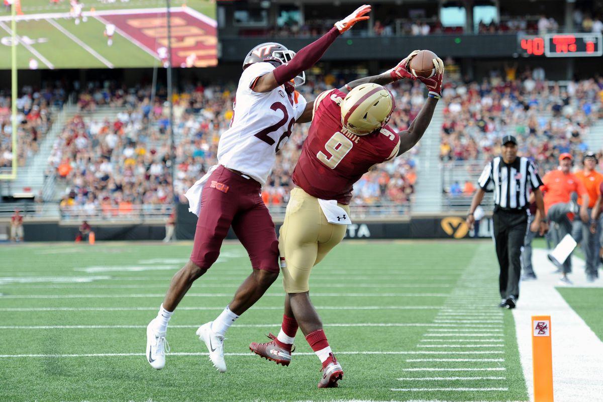 NCAA Football: Virginia Tech at Boston College