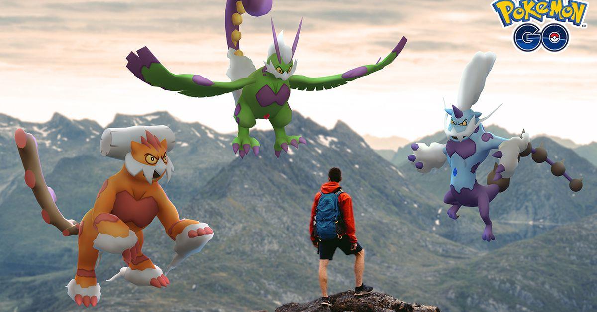 Pokémon Go's next season will focus on Legendary Therian Formes - Polygon
