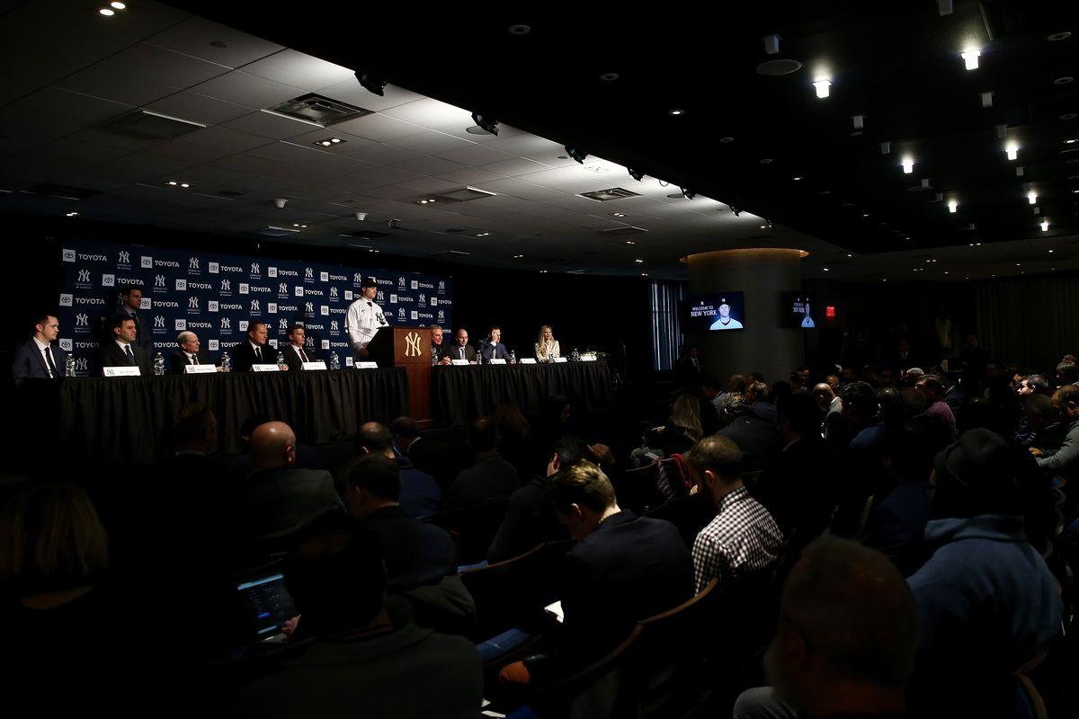 New York Yankees Introduce Gerrit Cole