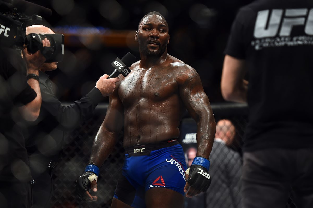 Anthony 'Rumble' Johnson looking to 'bury everybody' in UFC return - Bloody Elbow