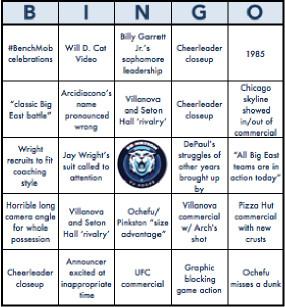 depaul bingo