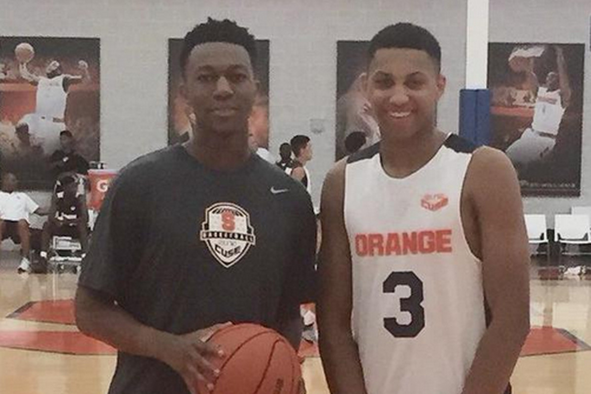 Syracuse Basketball Recruiting Elite Camp Recap Troy Nunes Is An
