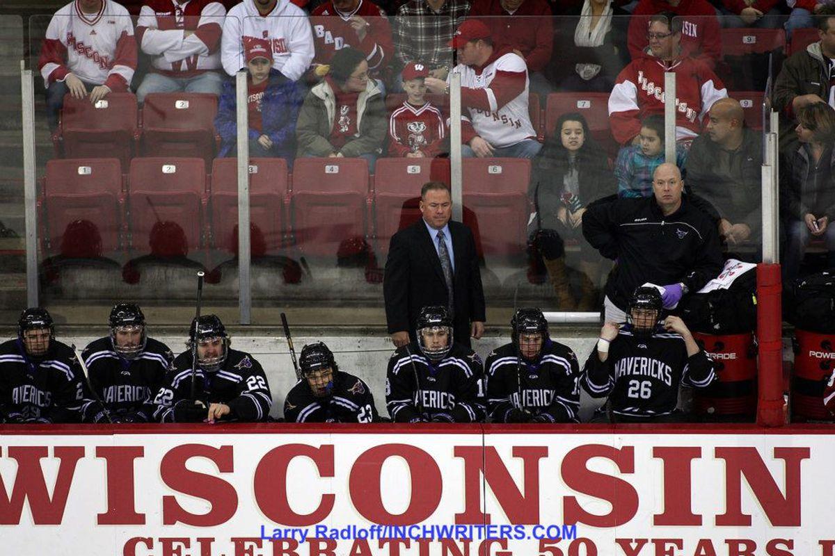 Minnesota State head coach Mike Hastings