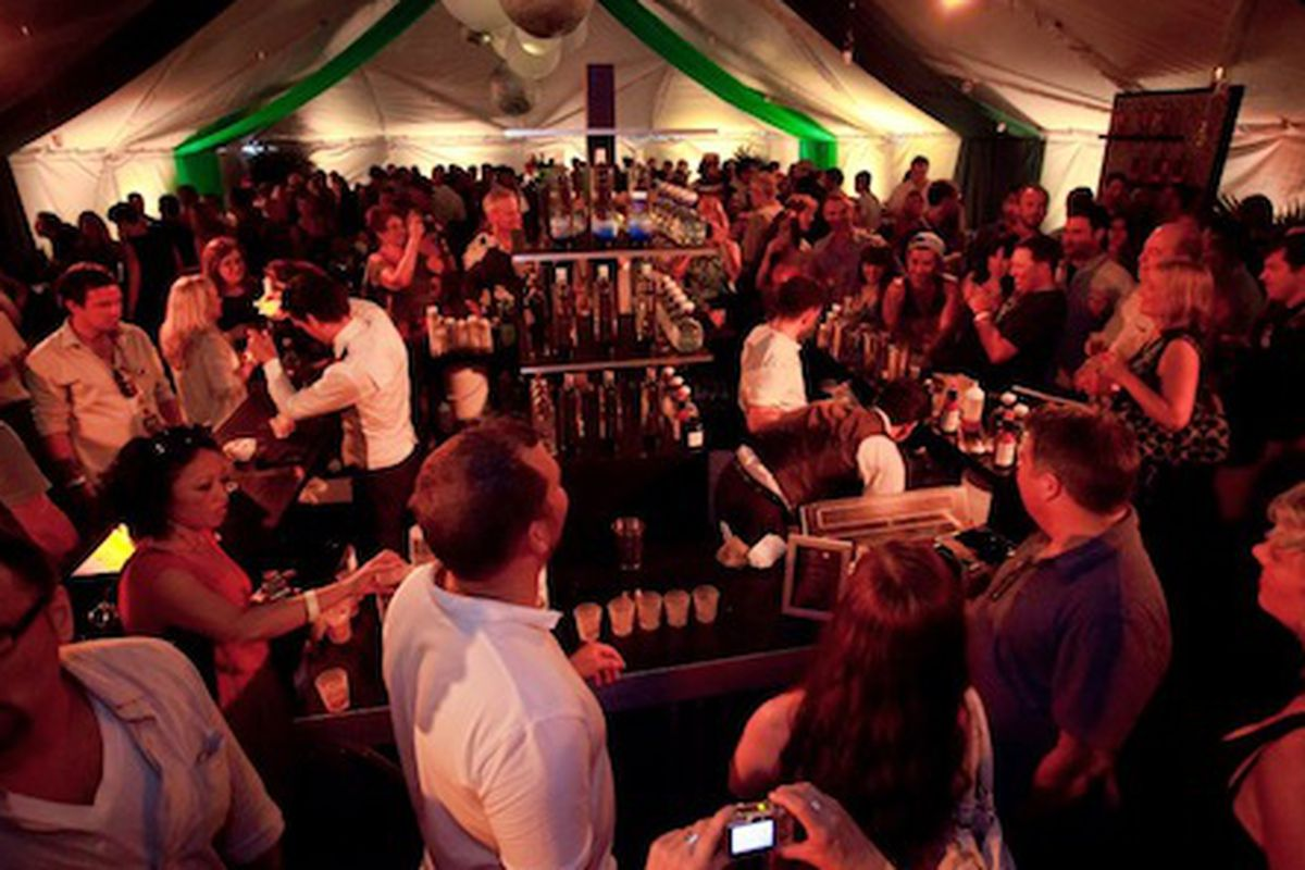 Diageo Happy Hour at TOTC 2012