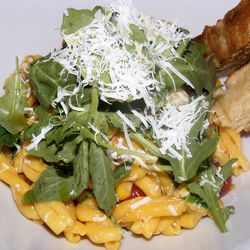 """Casarecci from Nicoletta by <a href=""""http://www.flickr.com/photos/37619222@N04/7856648130/in/pool-eater/"""">The Food Doc</a>"""