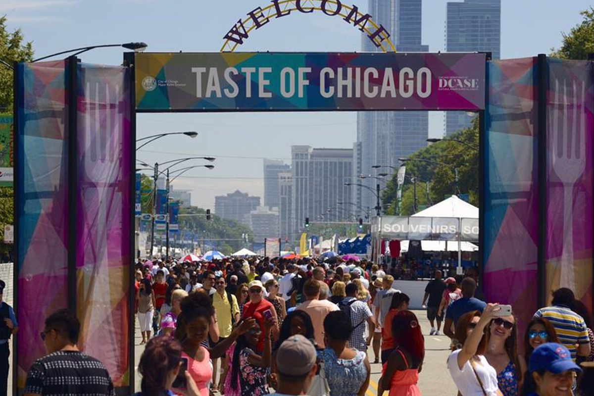 Taste Of Chicago Food Vendors