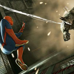 """In this video game image released by Activision Inc., a scene is shown from """"The Amazing Spider-Man."""""""