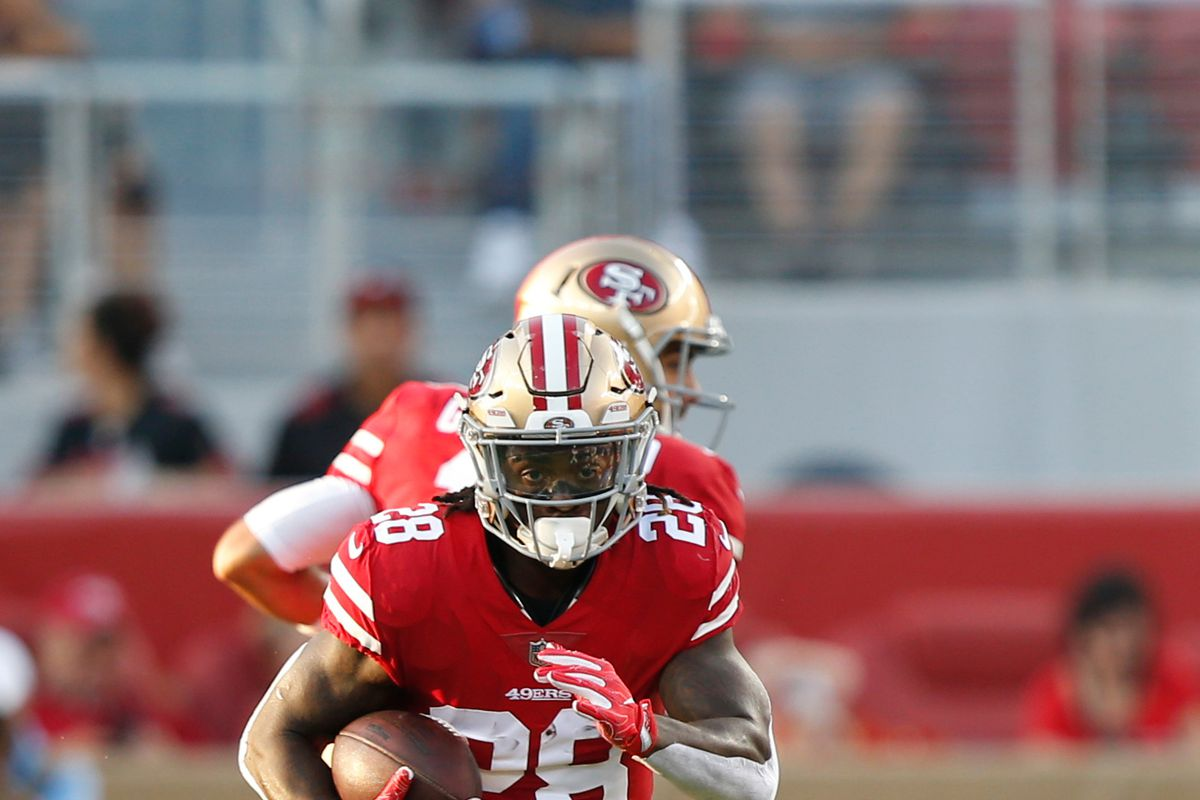 new style aee2c 8d9fa 49ers activate RB Jerick McKinnon from PUP list - Niners Nation