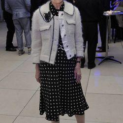 "Jean Berghoff, interior designer and SAIC Fashion Department board member. ""Vegetable."""