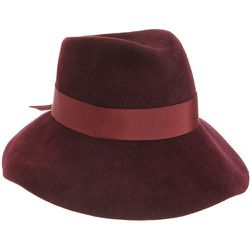 """<b>Jennifer Ouelette</b> Tina Hat in Bordeaux, <a href=""""http://www.barneys.com/on/demandware.store/Sites-BNY-Site/default/Product-Show?pid=00505030561496&cgid=womens-hats&index=32"""">$485</a> at Barneys"""