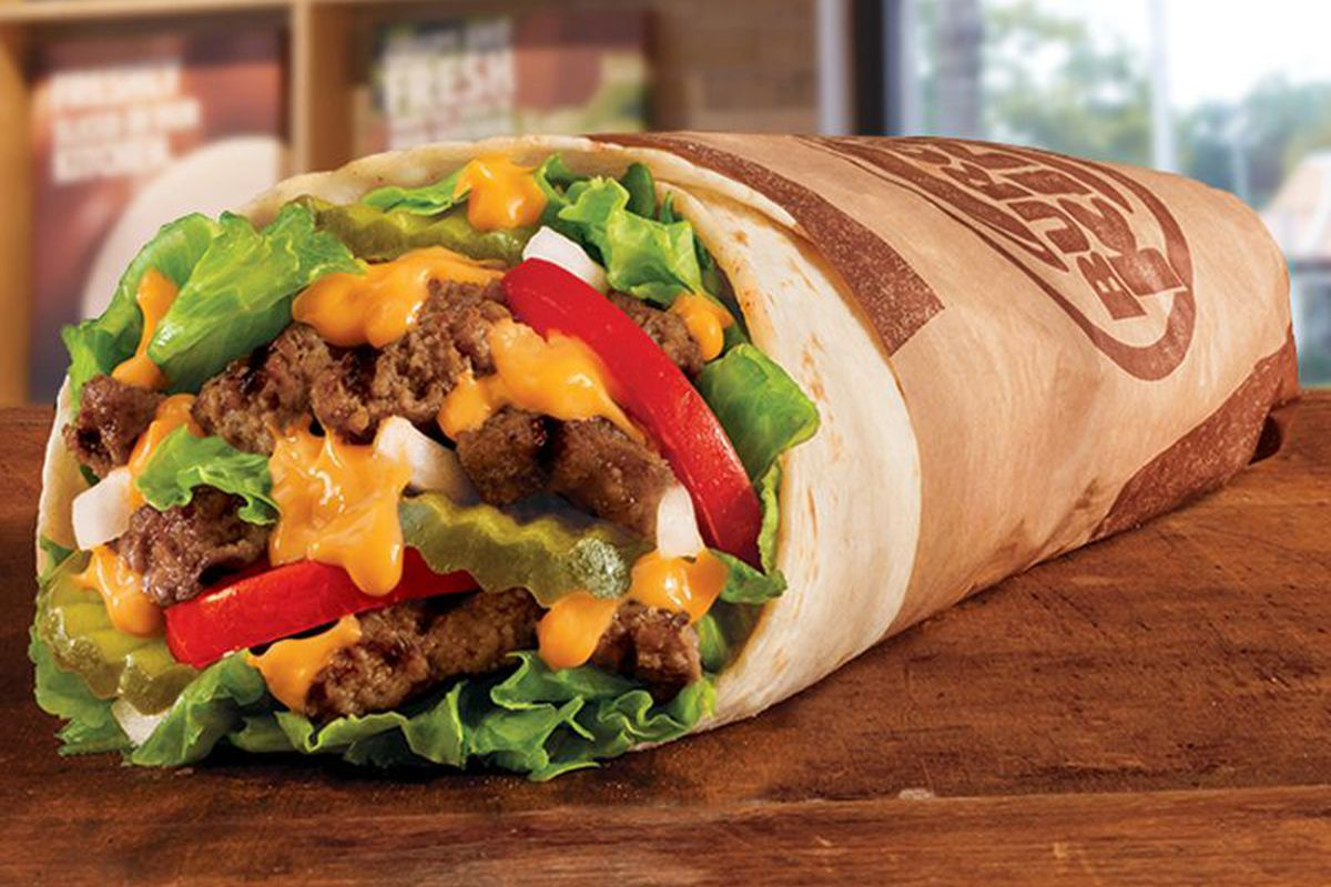 Burger Kings Whopper Burrito Is Really Happening